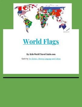 World Flags - Internet Research Reading Guide