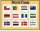 World Flags Matching Board Game!