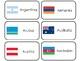 245 World Flags Printable Flashcards. Preschool-Elementary