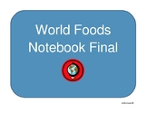 FCS World Foods Notebook Rubric