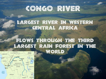 World Geography Africa - Physical Features