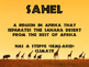 World Geography Africa - Vocabulary Presentation