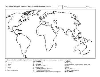 Worksheets World Geography Worksheet geography worksheet delibertad world delibertad