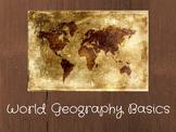 Social Studies: World Geography Basics