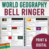 World Geography Bell Ringer: Countries of the World—Physical & Human Geography