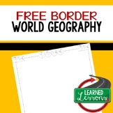 World Geography Border Free