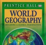 World Geography: Building a Global Perspective Chapter 1 Homework