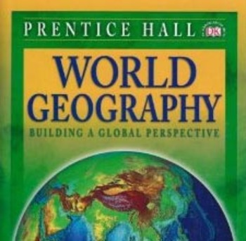 World Geography: Building a Global Perspective Chapters 21/23 Homework/Quizzes