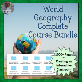 World Geography Complete Course BUNDLE - All World Regions & Geo Introduction