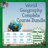 World Geography Complete Course BUNDLE - All World Regions