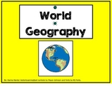 World Geography: Continents, Oceans, Equator, Prime Meridi