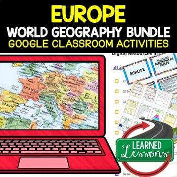 EUROPE BUNDLE World Geography Bundle