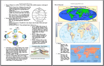World Geography End-of-Course (EOC) STAAR Review Guide ...