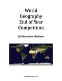 World Geography End of Year Trivia Competition
