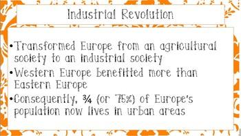 World Geography - Europe - Economics