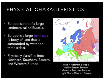 World Geography: Europe & Russia PowerPoint