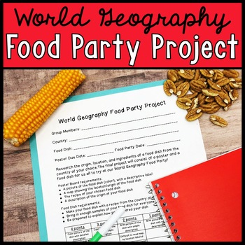 Cultural Food Party Project