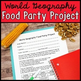 World Geography Food Party Project