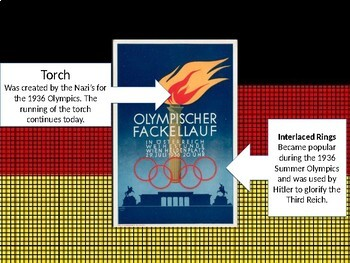 World Geography & Government: Hitler's Olympics of 1936 Propaganda (PowerPoint)