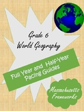 World Geography Grade 6 Pacing Guide