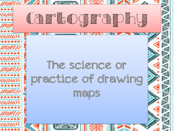 World Geography: Into to Geography Vocabulary Definitions