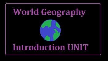 World Geography Intro Unit