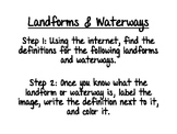 World Geography: Landforms & Waterways