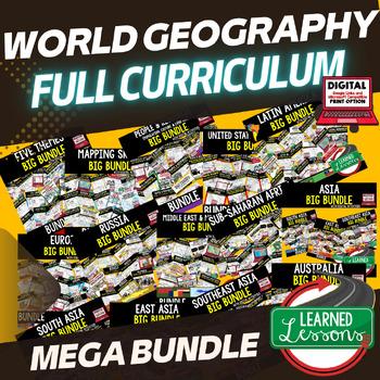 World Geography MEGA BUNDLE (Growing) (World Geography Bundle)