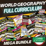World Geography Curriculum MEGA BUNDLE, World Geography Ac