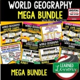 World Geography Curriculum MEGA BUNDLE, World Geography Ac
