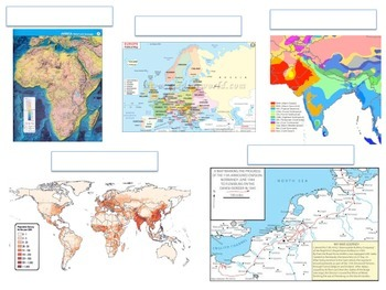 World Geography Map Activities by The History and Social Studies ...