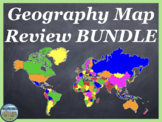 World Geography Map Activities Bundle