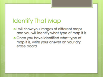 World Geography - Map Types Presentation