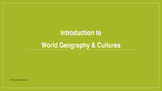 Introduction to World Geography - Maps and So Much More!