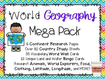 World Geography Mega Pack