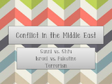 World Geography Middle East Conflicts