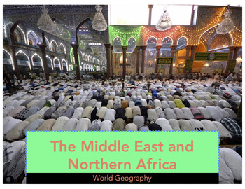 World Geography: Middle East PowerPoint