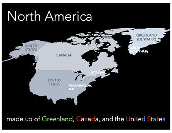 World Geography: North America PowerPoint