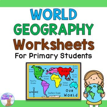 World Geography Quiz Worksheets Teaching Resources TpT