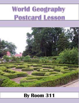 World Geography Postcard Lesson