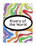 World Geography Research Rivers Continents PDF Social Studies Worksheet
