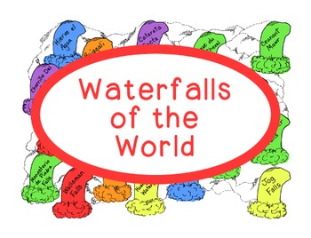 World Geography Research Waterfalls Continents PDF Social Studies Worksheet