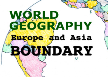 World Geography Songs, Europe and Asia Boundaries