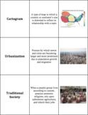 World Geography - Sub-Saharan Africa - Vocabulary Cards