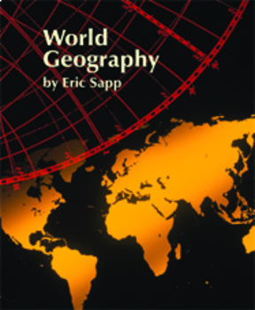 World Geography-Teacher Manual, Lesson Plans, Activities, Assessments, PPT'S