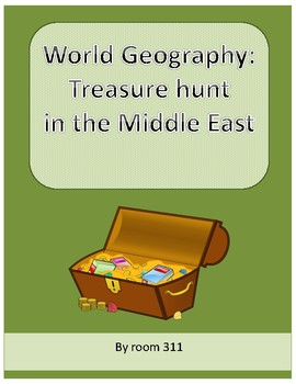 World Geography: Treasure Hunt in the Middle East