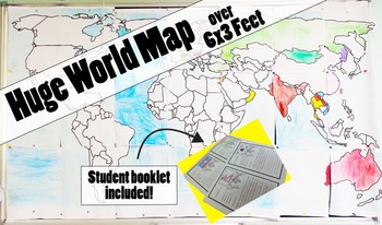 world map geography unit