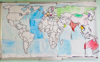 World Map & Geography Unit