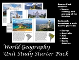 World Geography Unit Study Starter Pack