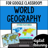 World Geography VA SOL 3.6 for Google Classroom Distance Learning
